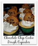 Chocolatechipcookiedoughcupcakes