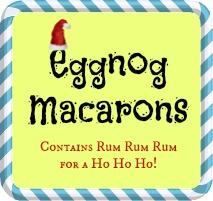 eggnogmacarons
